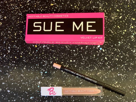 """EXPOSED"" Sue Me Lip Kit"