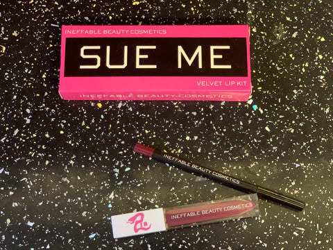 """BRATTY"" Sue Me Lip Kit"