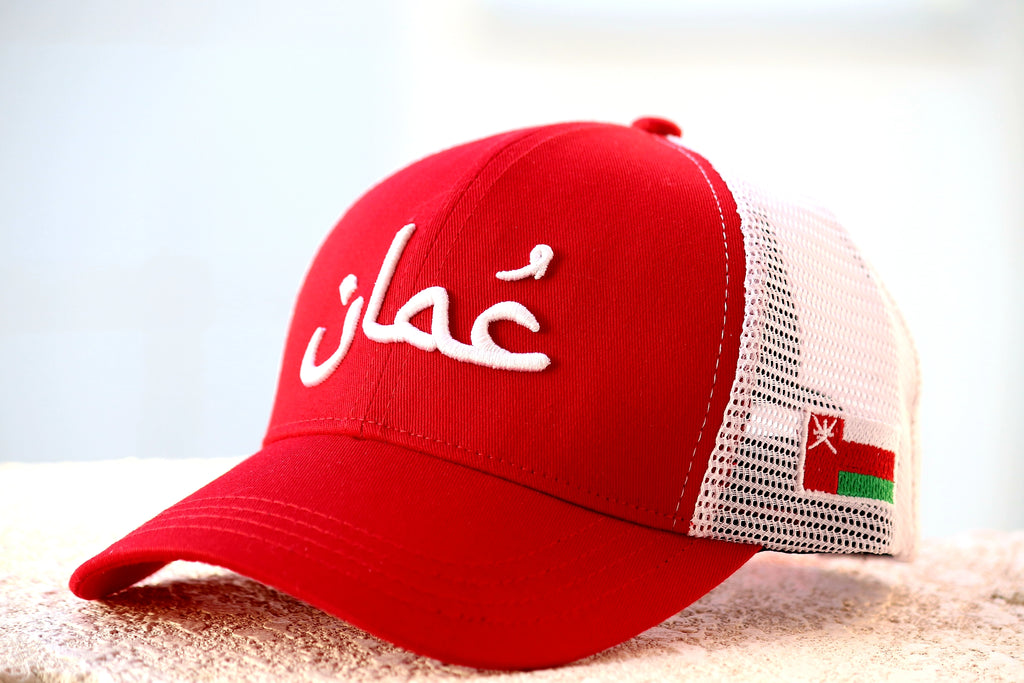 OMAN Trucker Cap (Red Retro)