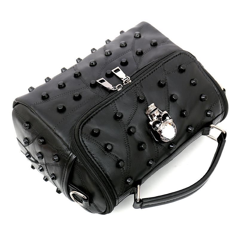 Women's Riveted Skull Handbag 2018 Edition