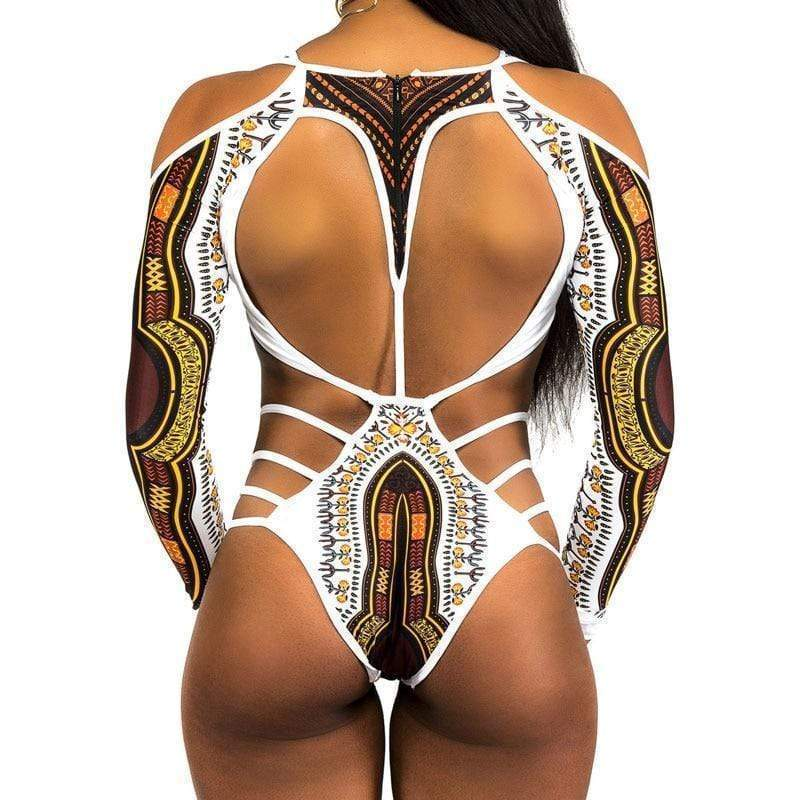 Kissbella African Printed One Piece Swimsuit / Bikini 2018 Edition Best Vegan Fashion Beauty