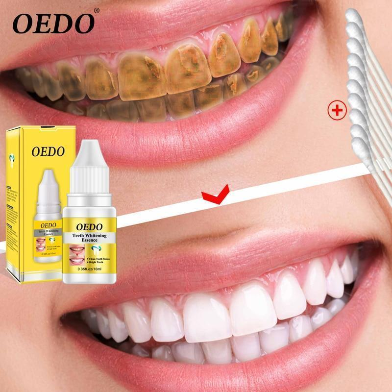 Kissbella Serum Teeth Whitening Essence Powder Oral Hygiene Cleaning Serum Removes Plaque Stains Tooth Bleaching Dental Tools Toothpaste Best Vegan Fashion Beauty