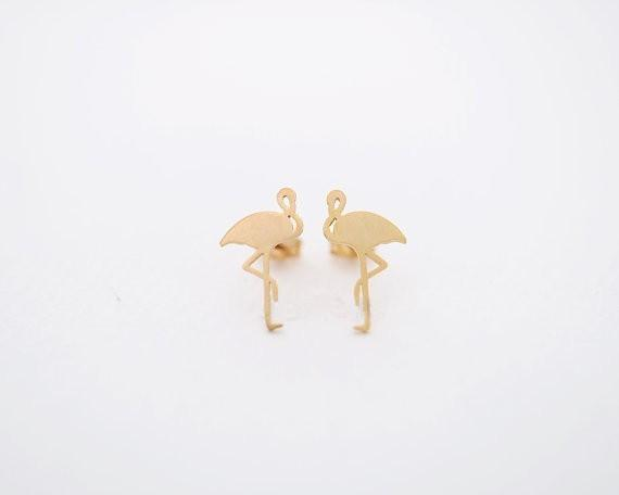 Cute Flamingo Earrings - Orelio Store