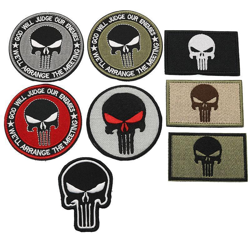 Punisher's Army Backpack Patch