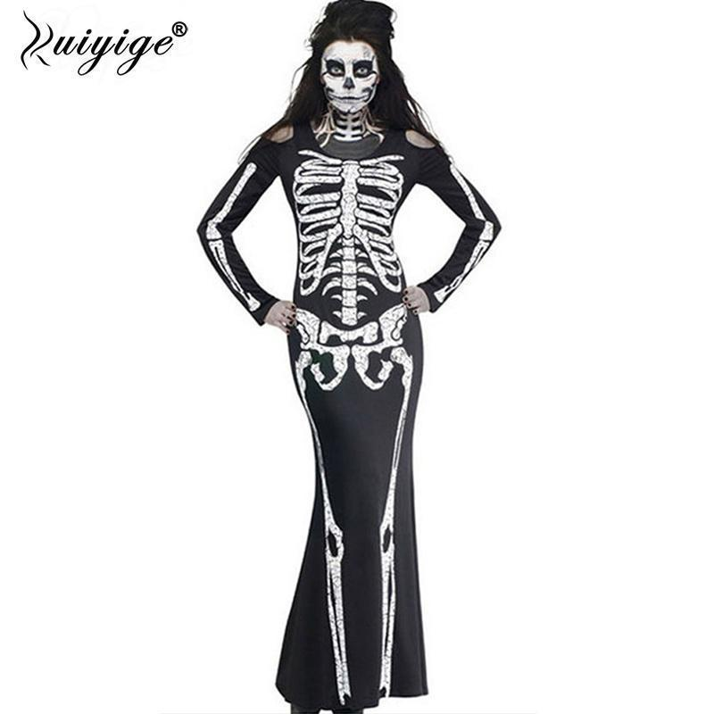 Long Skeleton Gown