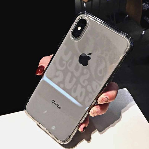 Shockproof Clear Phone Case for iPhone