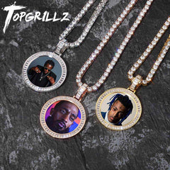 Custom Made Photo Medallions Necklace & Pendant