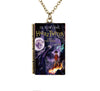 Image of Harry Potter TINY Book Cover Pendant Necklace