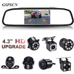 Car HD Rearview Mirror Monitor