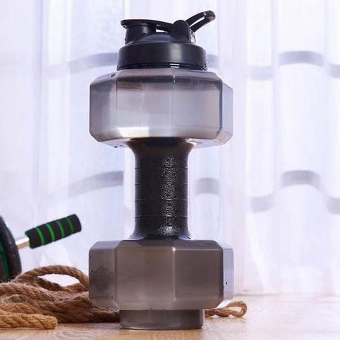 2.2L Dumbbell Shaped Water Bottle