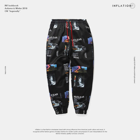 Harem Pants Graphic Print