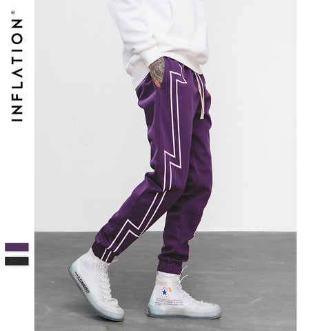 FW Stripe Screen Print Sweatpants