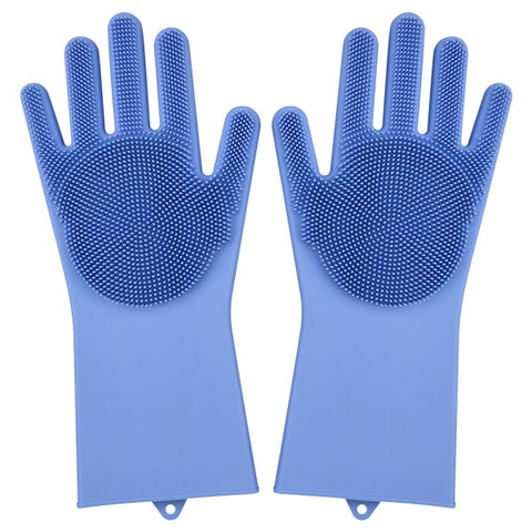 Kitchen Silicone Cleaning Gloves