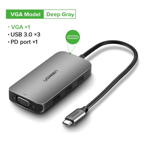 USB-C Thunderbolt 3 Dock USB