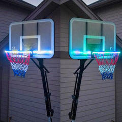 LED Basketball Rim