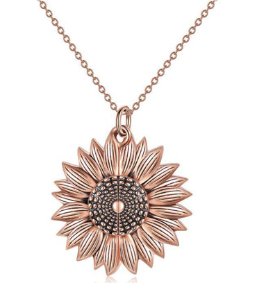 Customizable Sunflower Locket