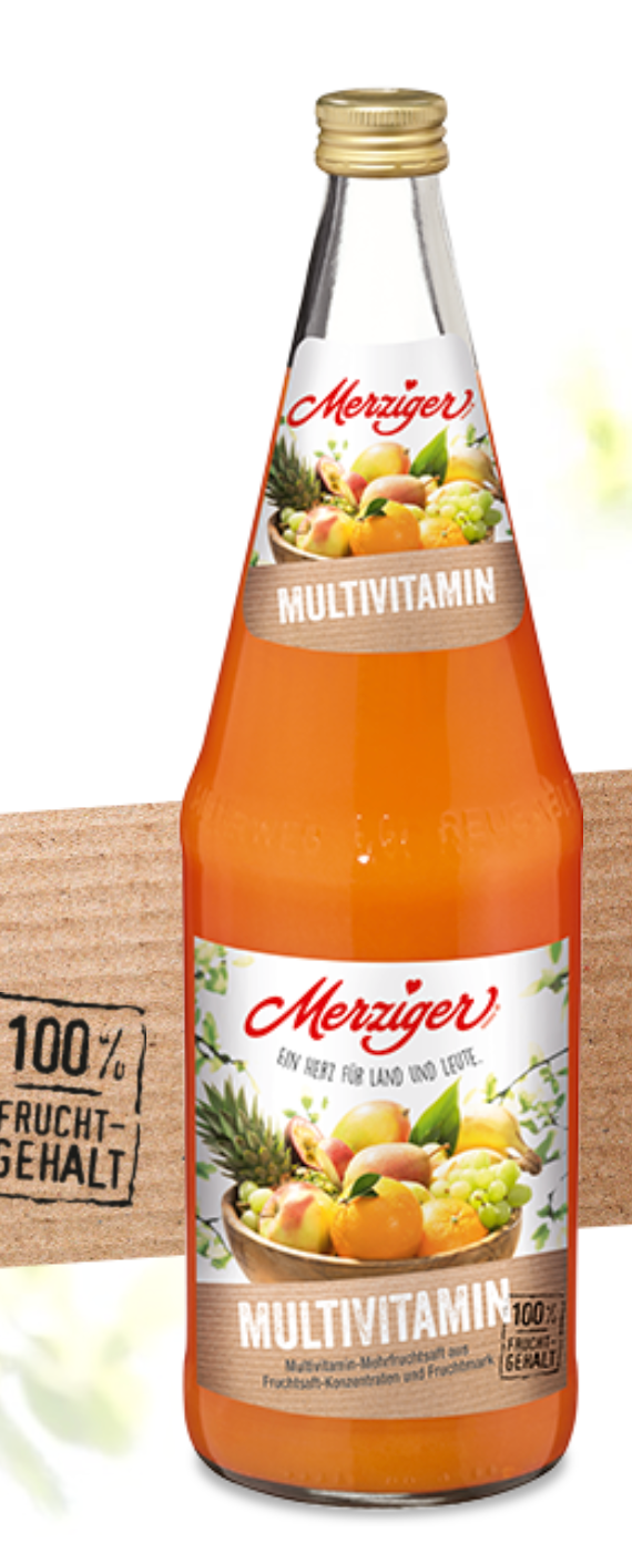 Merziger Multivitaminsaft (Kiste)
