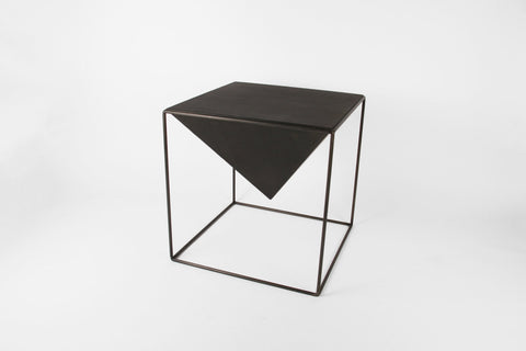 "Cube Pyramid Table - 12"" - Crosstree"