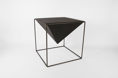 "Cube Pyramid Table - 15"" - Crosstree"