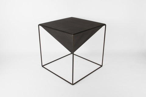 "Cube Pyramid Table - 18"" - Crosstree"