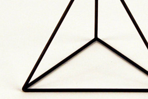 "Tetrahedron Frame - Round Bar - 16"" to 18"" - Crosstree"