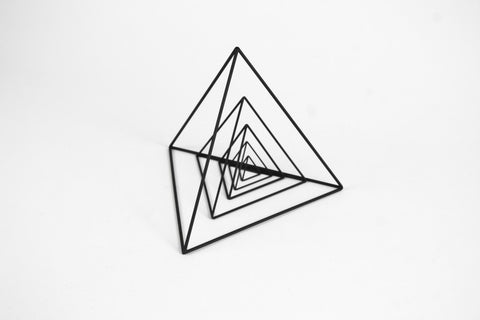Tetrahedron Frames - Set of 5 - Crosstree