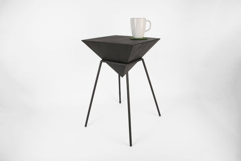 "Pyramid Table - 12"" Wide x Multiple Heights - Crosstree"