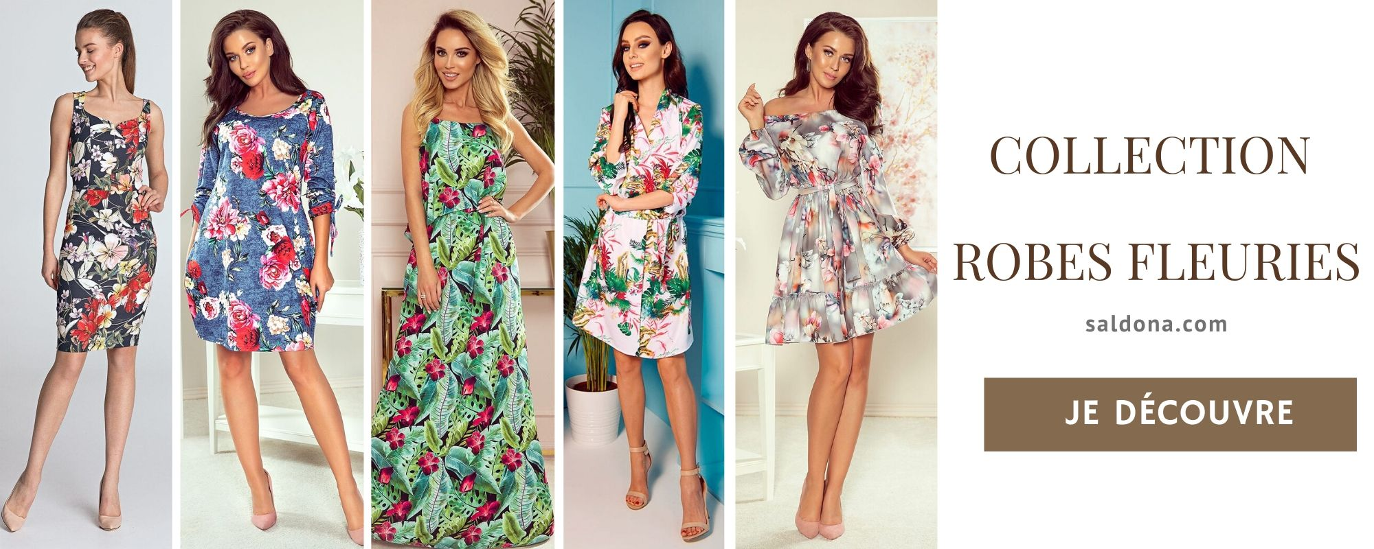 Collection Robe Fleurie