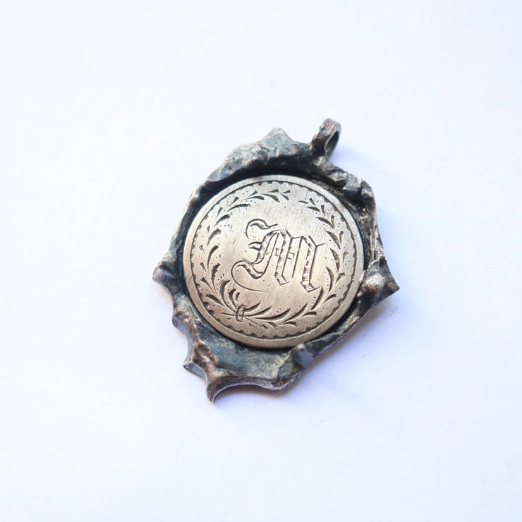 """M"" Coin Vintage Love Token"