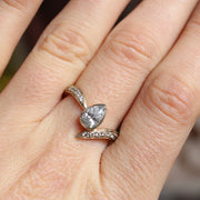 Diamond Pear Engagment Ring