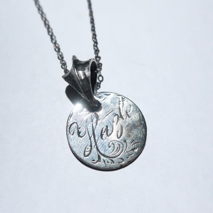 """Hayle"" Love Token Necklace"