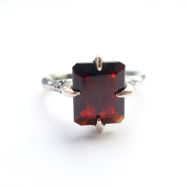 Garnet Cocktail Ring