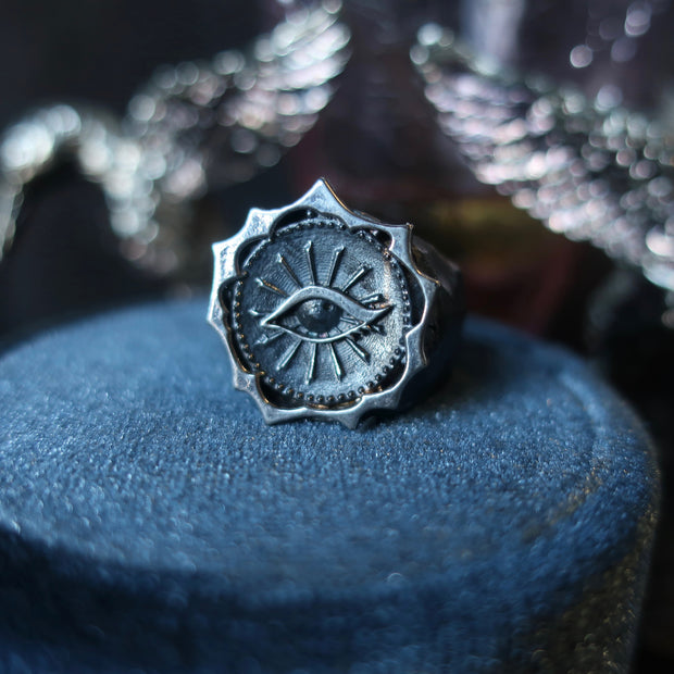Eye Coin Ring