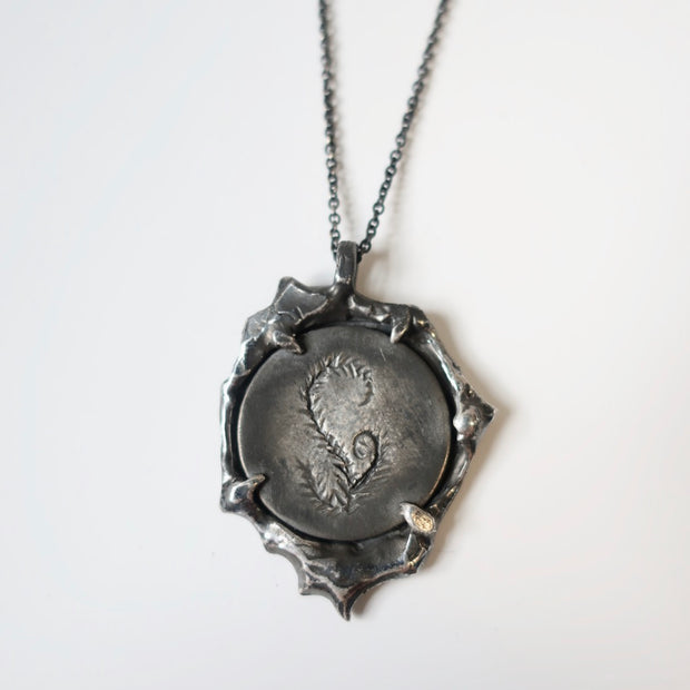 Fern Love Token Pendant