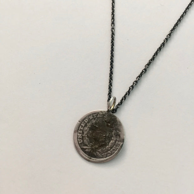 """H"" Coin Vintage Love Token"