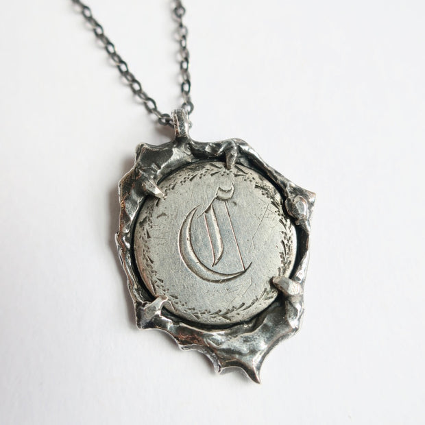 """C"" Coin Vintage Love Token"