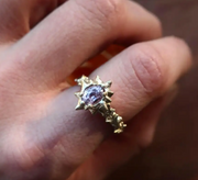 Bloom Lavender Sapphire 14K yellow gold