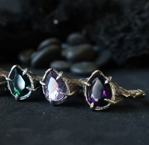 Amethyst Cin Ring