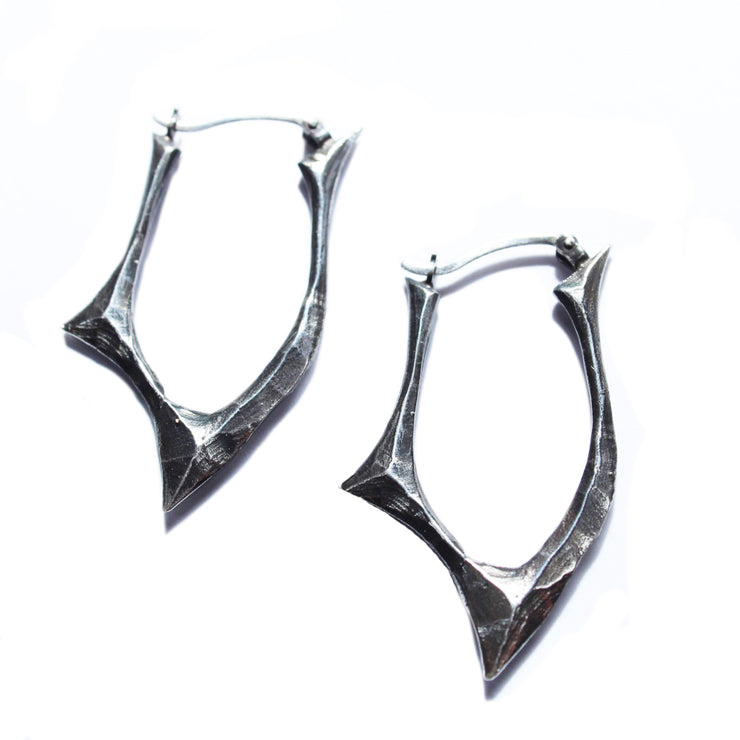 Small Blade Hoops