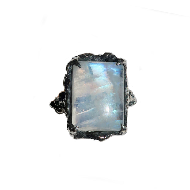 Large Moonstone Cocktail Ring