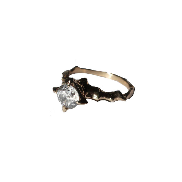 Salt and Pepper Hecate Ring