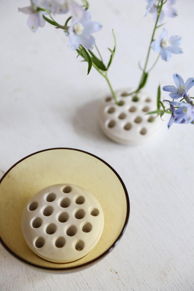 Oh Flora Store | Ceramic Flower Frog | Shell - Oh Flora Store