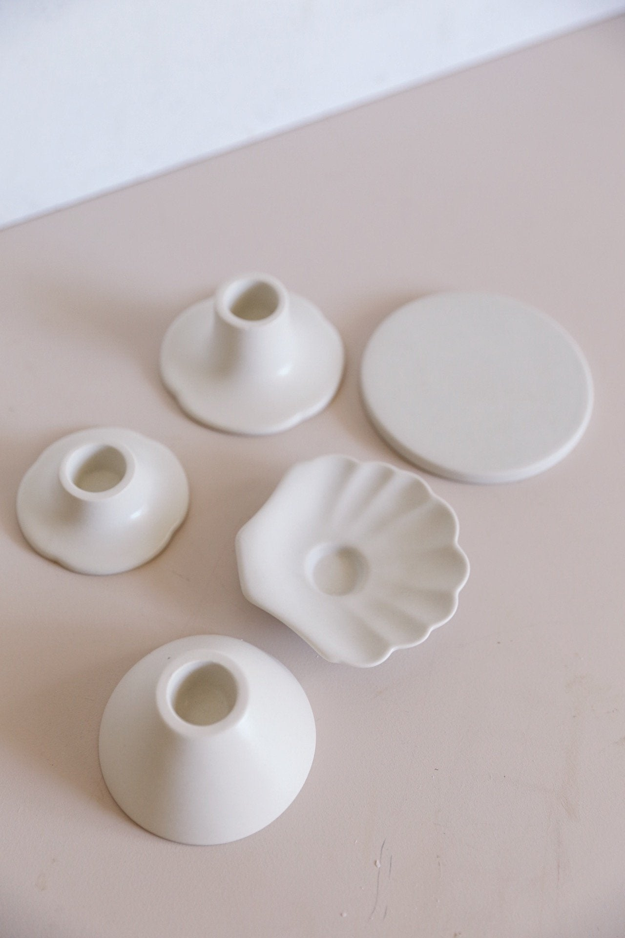 Oh Flora Store | Mala Candle Holder | Shell - Oh Flora Store