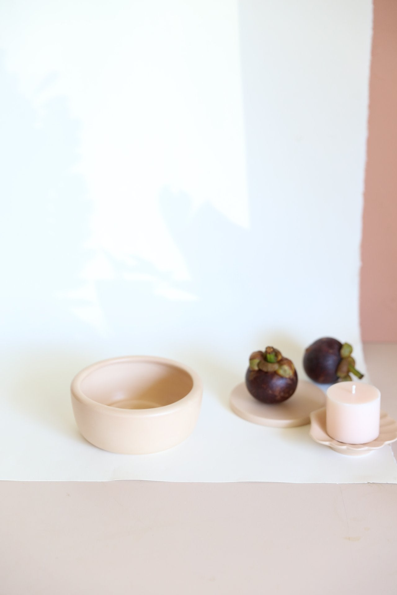 Oh Flora Store | taupe ceramic bowl