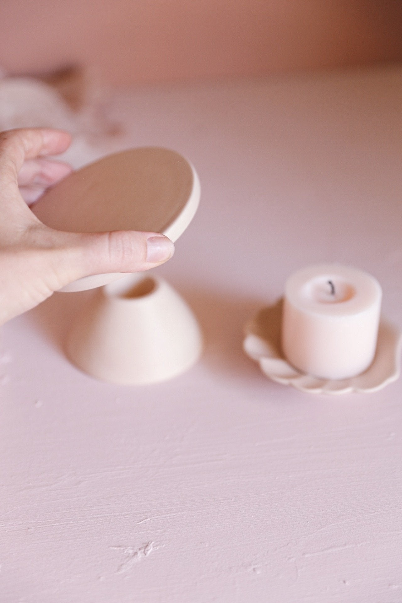 Oh Flora Store | Florence Candle Holder | Hazel - Oh Flora Store