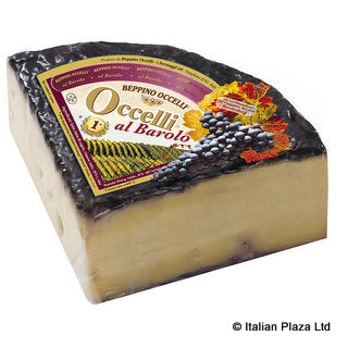 Hard Cheese with Barolo Wine DOCG