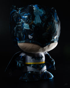 "Batman plush toy in Modern Age comic print, 7"" Maxx Shop Gift"