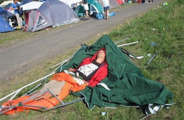 A Guide For Things You Should Not Do At A Music Festival