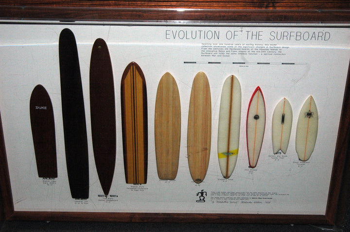 Surfing's Evolution and Different Types of Surfboards