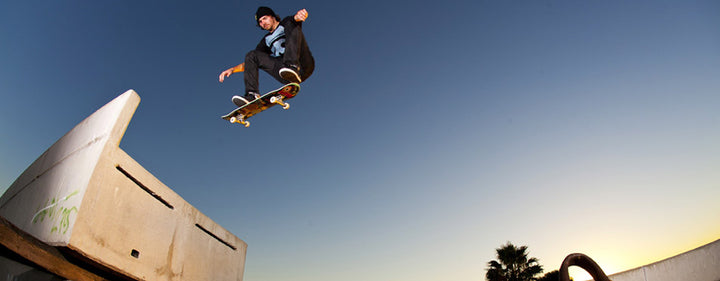 Skater Greg Lutzka up to new tricks